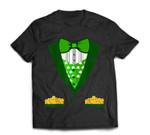 Toddler Boys Irish Tuxedo Bow-Tie Leprechaun Costume T-Shirt
