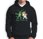 Unicorn St Patricks Day Kids Toddler Girl Leprechaun Sweatshirt & Hoodie