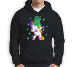 Unicorn St Patricks Day Toddler Girl Kids Shamrock Sweatshirt & Hoodie