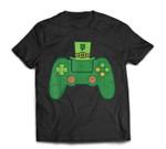 Video Game Controller Irish Gamer Boys St Patricks Day Men T-Shirt