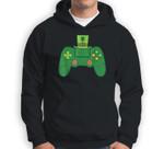 Video Game Controller Irish Gamer Boys St Patricks Day Men Sweatshirt & Hoodie
