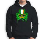 Video Game Leprechaun Controller Boys Gamer St Patricks Day Sweatshirt & Hoodie