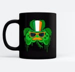 Video Game Leprechaun Controller Boys Gamer St Patricks Day Black Mugs