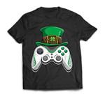 Video Game Leprechaun St. Patrick's Day Gifts Men Boy T-Shirt