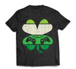 Video Game Shamrock Retro St Patricks Day Boys Men Girl Gift T-Shirt
