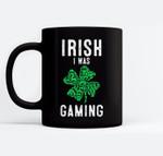 Video Gamer Saint Patricks Day Gaming Lucky Gamer For Boys Black Mugs