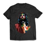 Vintage Got King Jesus Christ Sweet Face Image T-Shirt