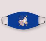 Easter Unicorn Eggs Cellent Gift For Girls Women Kids Cloth Face Mask