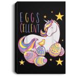 Easter Unicorn Eggs Cellent Gift For Girls Women Kids Portrait Canvas