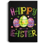 Egg Easter Boys Girls Easter Egg Easter Day Portrait Canvas