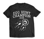 Egg Hunt Champion 2019 Funny Easter Pregnancy Reveal Men Dad T-Shirt