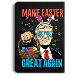 Make Easter Day Great Again Trump Men Women Portrait Canvas