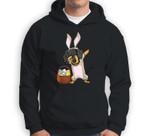 Dabbing Easter Bunny Dachshund Doxie Girls & Design Sweatshirt & Hoodie