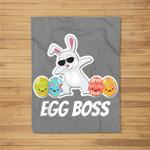 Easter 2019 Dress Toddler Girls Boys Bunny Egg Boss Fleece Blanket