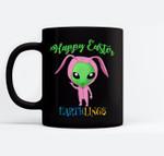 Easter Alien bunny costume for boys Black Mugs