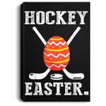 Easter Boys Hockey Easter Portrait Canvas