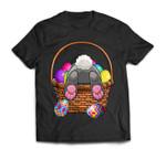 Easter Bunny Basket Eggs Women Men Kids Gift T-Shirt