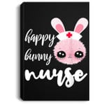 Happy Bunny Nurse Easter Day Nurse Gifts Portrait Canvas