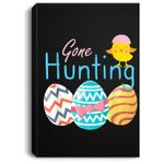 Happy Easter - Funny Egg Hunt Gift Portrait Canvas