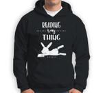 Reading is my Thing Teacher Easter Bunny Sweatshirt & Hoodie
