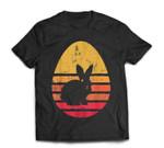 Retro Easter Bunny Rabbit Egg Birthday Vintage Gift T-Shirt