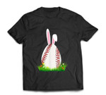 Cute Easter Baseball Bunny ear Egg Bunny Lover Gift T-Shirt