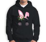Cute Easter Bunny Face for Mom Mama Adult n Girl Sweatshirt & Hoodie
