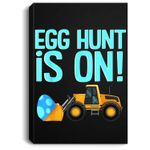 Cute Easter for Boys Awesome Dump Truck Egg Hunt Portrait Canvas