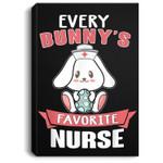 Easter Day Every Bunny's Favorite Nurse Nurse Gift Portrait Canvas