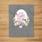 Easter Design #1 Fleece Blanket