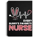 Stethoscope Easter Bunny Every bunny's favorite nurse Portrait Canvas