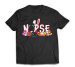 Stethoscope Nurse Easter Bunny Funny Eggs For Nurse T-Shirt