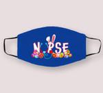 Stethoscope Nurse Easter Bunny Funny Eggs For Nurse Cloth Face Mask