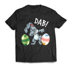 Dabbing Easter Bunny Easter For Kids Boys Girls Gift T-Shirt