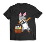 Dabbing Easter Bunny English Bulldog Boys & Design T-Shirt