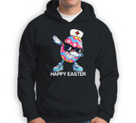 Dabbing Easter Egg Stethoscope Nurse Happy Easter Sweatshirt & Hoodie