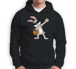 Dabbing Rabbit Easter Day Eggs Dab Boys Girls Kids Sweatshirt & Hoodie