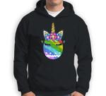 Bunny Unicorn Face Easter Egg Rainbow Easter Day Gift Sweatshirt & Hoodie
