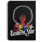 OES Style Order Of The Eastern Star Freemason Portrait Canvas