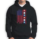 Patriotic Easter American Flag Easter Egg Gift Sweatshirt & Hoodie