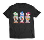 Easter Gnomes Egg Hunting Gift for Men Womens Kids T-Shirt