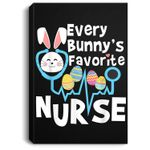 Every Bunny's Favorite Nurse Funny Easter Cute Gift Portrait Canvas
