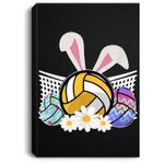 Funny Volleyball Easter Bunny Egg Costume Boys Girl Gift Portrait Canvas