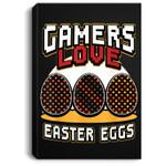 Gamer Easter for Boys Girls Toddler Men Video Game Portrait Canvas