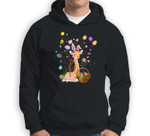 Giraffe Pet Lover Hunting Egg Full Color Easter Day Gift Sweatshirt & Hoodie