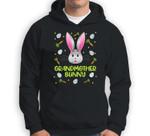Grandmother Bunny Easter Egg Hunting Costume Gift Sweatshirt & Hoodie