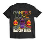 Vintage Gamer Love Easter Eggs Toddler Video Game T-Shirt