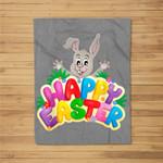 Easter Bunny Hare Domestic Rabbit Rabits And Hares Fleece Blanket