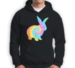 Easter Bunny Tie Dye Retro Egg Hunt Gift Sweatshirt & Hoodie