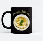 HUMMUSexual Middle Eastern Chick Pea Hummus Gender Black Mugs